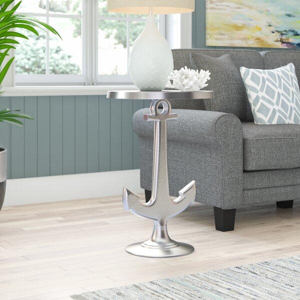 Octavia Aluminum Anchor Table by Beachcrest Home