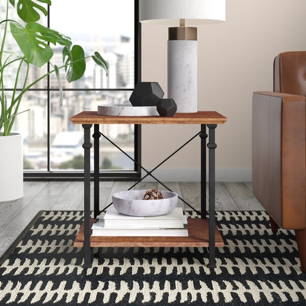 Zona End Table by Mercury Row