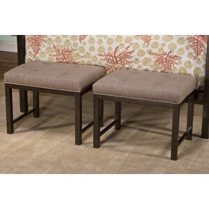 Galena Upholstered Bench by Gracie Oaks