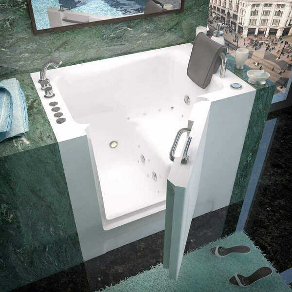 Catalina 39 x 27 Walk-In Air and Whirlpool Jetted Bathtub by Therapeutic Tubs