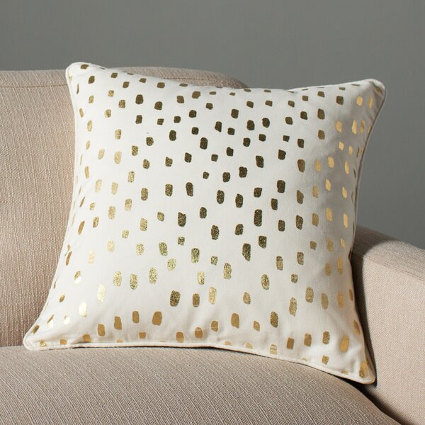 Carnell Contemporary Cotton Throw Pillow by Mercury Row