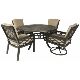 Fridley 5 Piece Sunbrella Dining Set By Red Barrel Studio