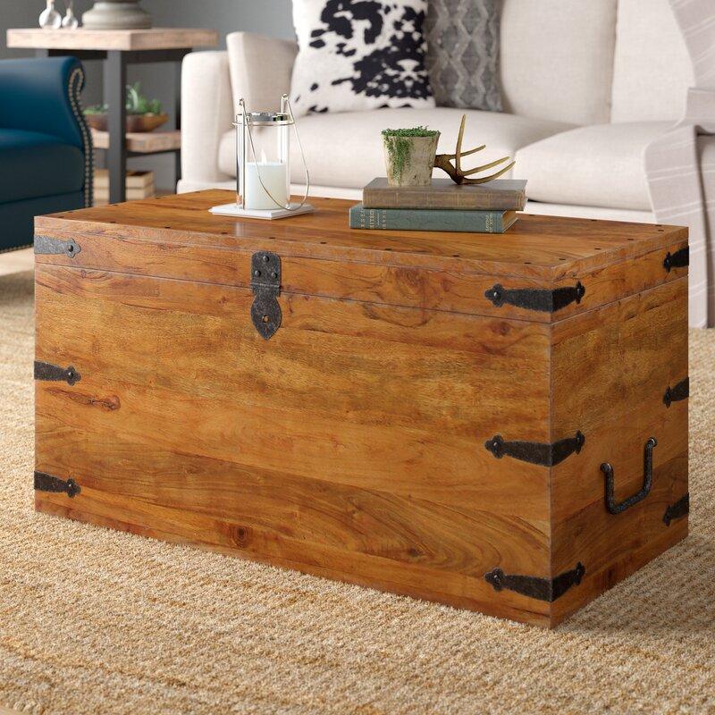 Bridgeport Coffee Table Trunk by Alpen Home
