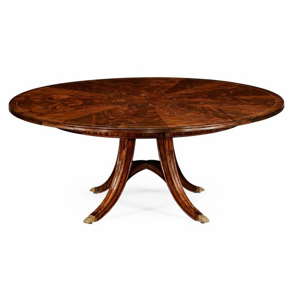 Buckingham Circular Extendable Solid Wood Dining Table by Jonathan Charles Fine Furniture