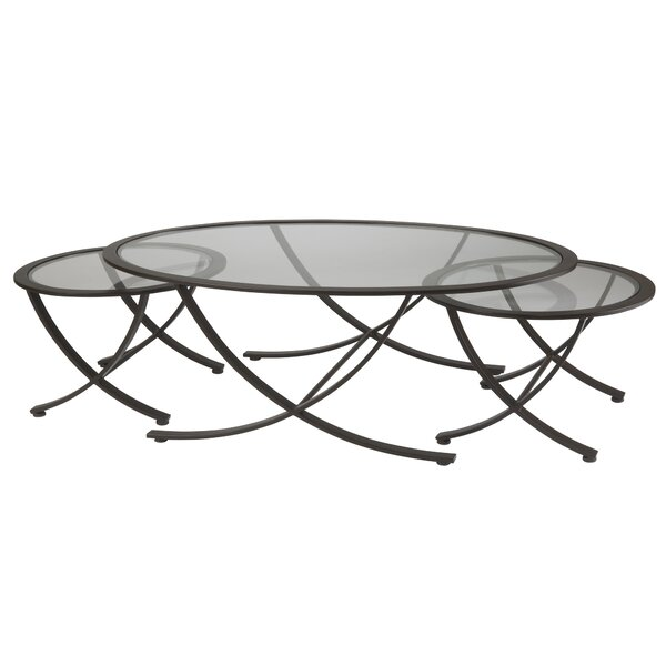 Wellington 3 Piece Coffee Table Set by Allan Copley Designs