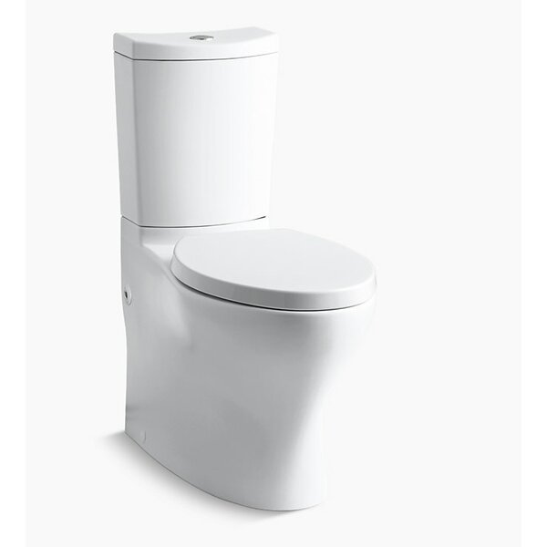 Persuade Curv Two-Piece Toilet by Kohler