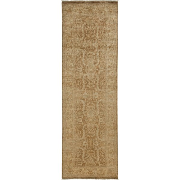 One-of-a-Kind Oushak Hand-Knotted Gold Area Rug by Solo Rugs