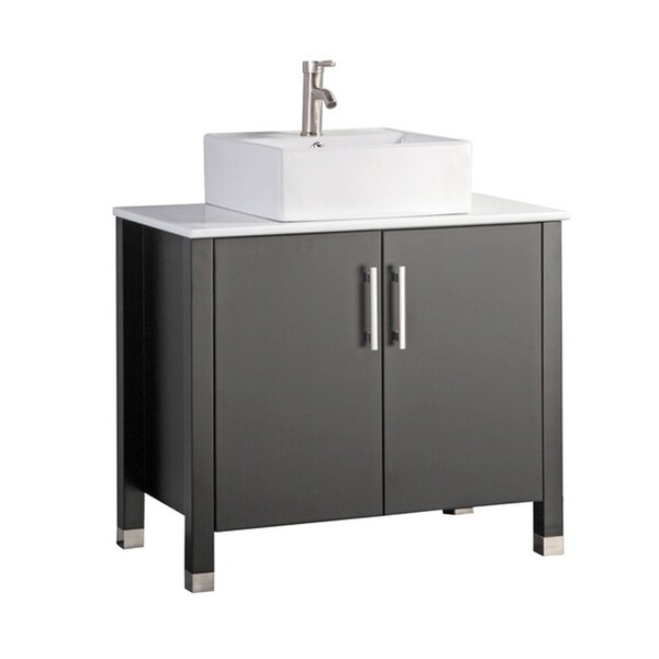 Larock Modern 36 Single Bathroom Vanity Set by Latitude Run