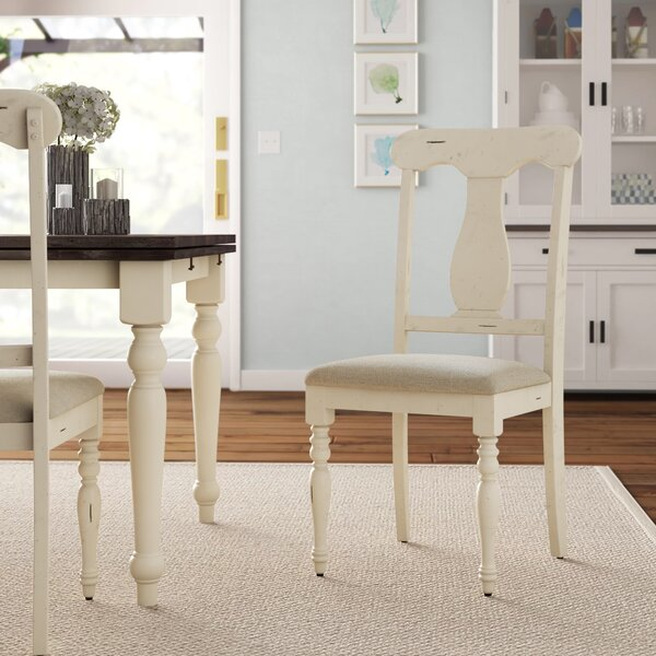 Bridgeview Upholstered Dining Chair (Set of 2) by Beachcrest Home