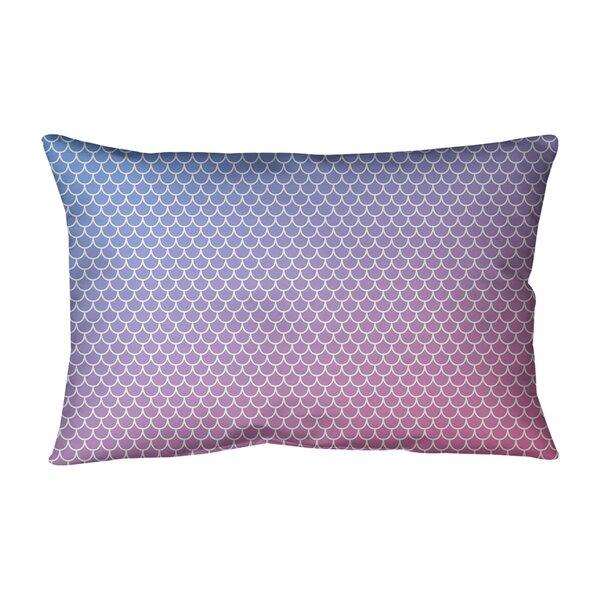 Mermaid Scales Indoor/Outdoor Lumbar Pillow