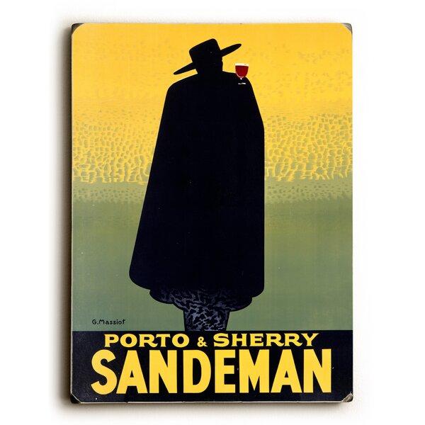 Sandeman Port Wine Vintage Advertisement by Artehouse LLC
