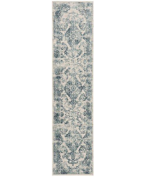 Van Andel Blue/Beige Area Rug by Alcott Hill