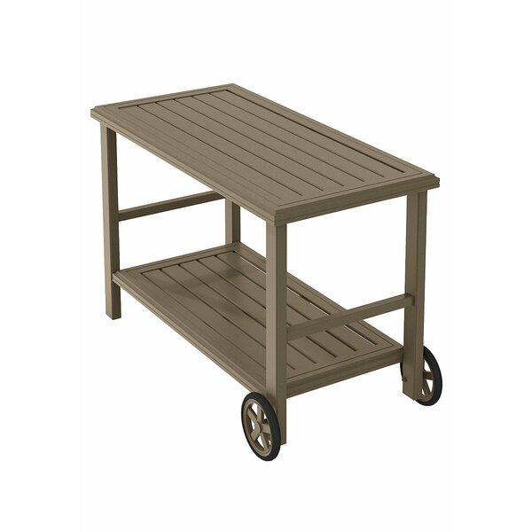 Banchetto Bar Serving Cart by Tropitone Tropitone