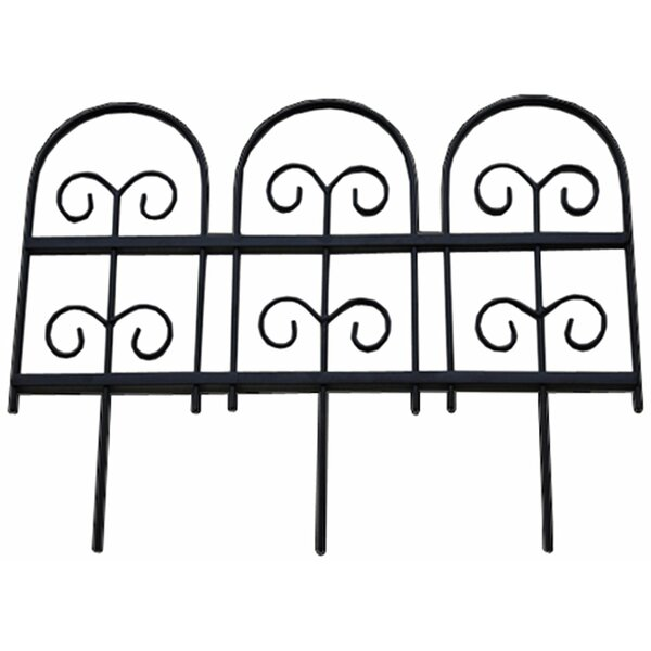 18 in. H x 8 ft. W Garden Edging (Set of 4) by Pangaea Home and Garden