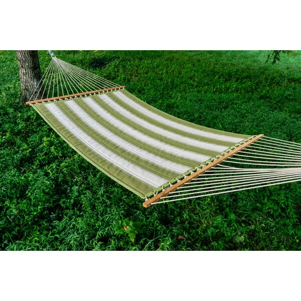 Barbieri Mossy Sunbrella Quilted Double Tree Hammock by Darby Home Co Darby Home Co