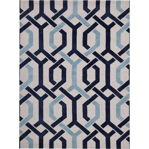 Stoke-on-Trent Hand-Tufted Ivory Area Rug by House of Hampton