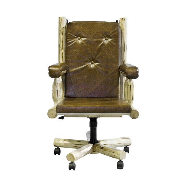 Abordale High-Back Bankers Chair by Loon Peak