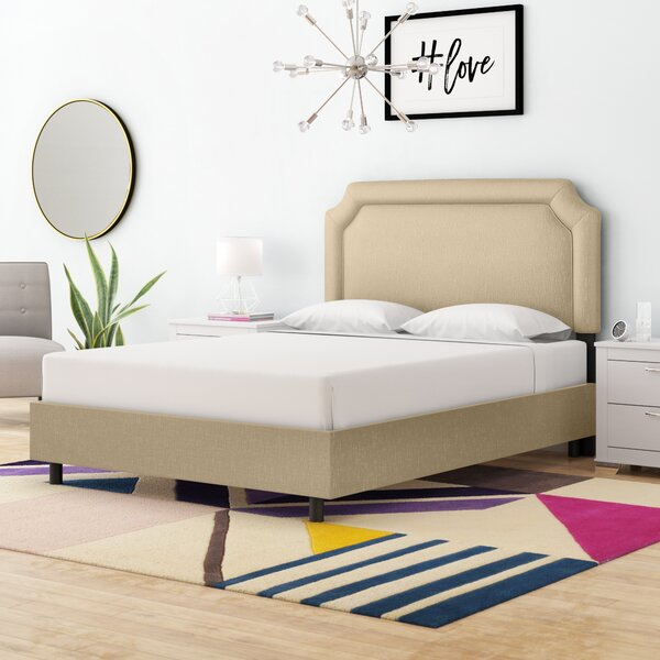 Millgrove Upholstered Standard Bed by Alcott Hill