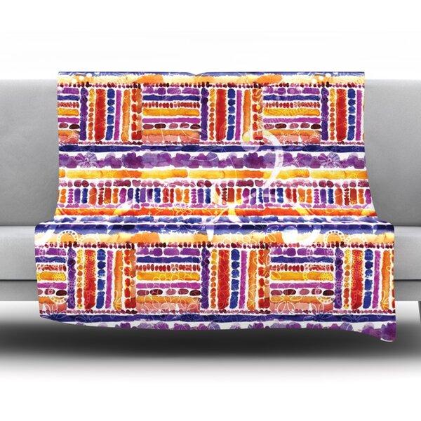 Tribal Throw Blanket by KESS InHouse