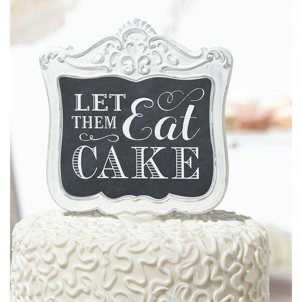 Let Them Eat Cake Pick by Lillian Rose
