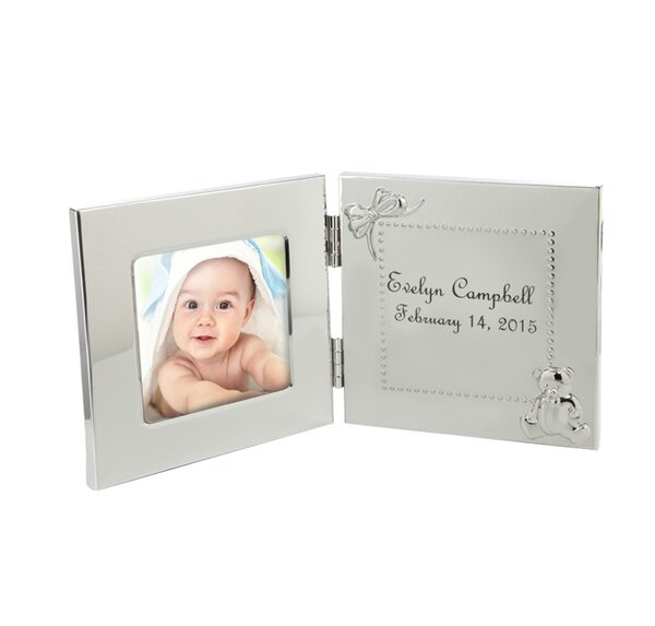 Personalized Hinged Baby Picture Frame by Monogramonline Inc.