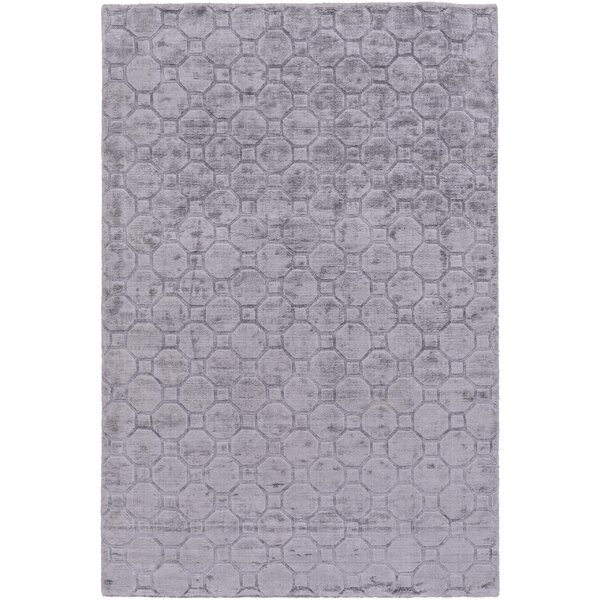Autumn Hand-Loomed Medium Gray Area Rug by Orren Ellis