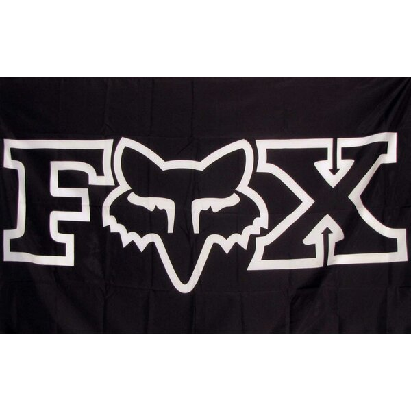 Fox Moto Polyester 5 x 3 ft. Flag by NeoPlex
