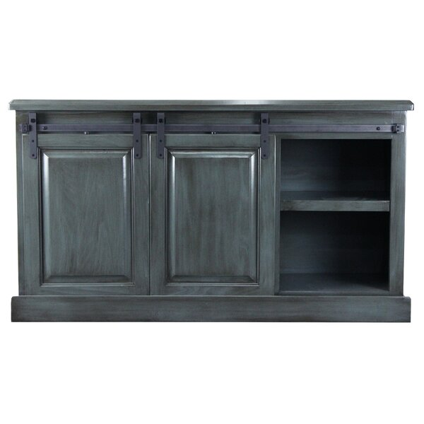 Stradley Solid Wood TV Stand For TVs Up To 65