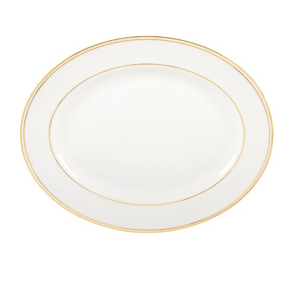 Federal Gold Oval Platter by Lenox
