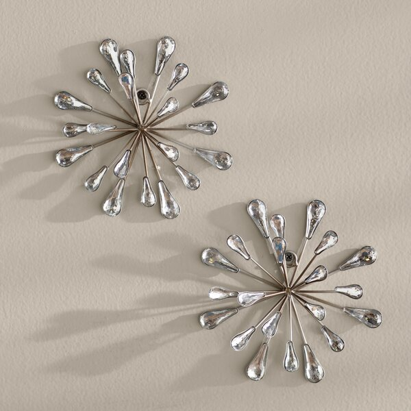2 Piece Starburst Wall Décor Set by Mercury Row