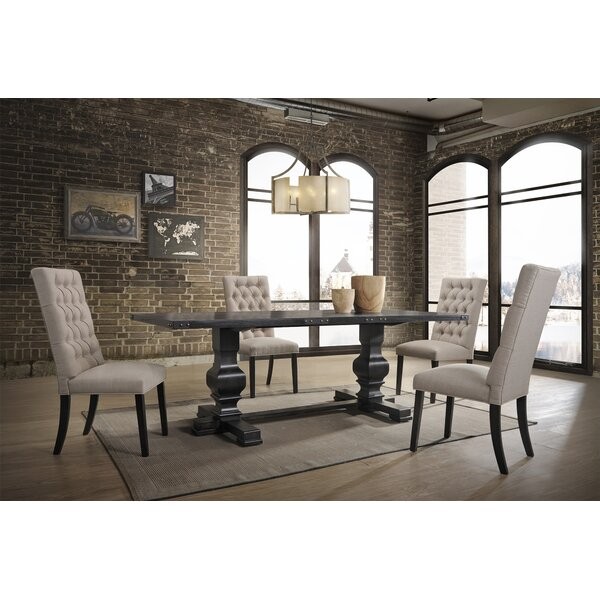 Lapinski 5 Piece Dining Set by Gracie Oaks
