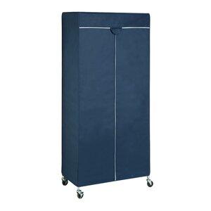 186 cm H x 91 cm B x 45 cm T Tragbare Garderobe von Honey Can Do