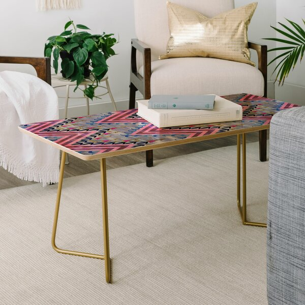 Schatzi Pena Chevron Coffee Table By East Urban Home