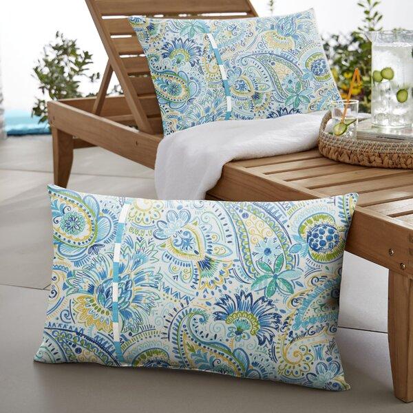 Yetta Indoor/Outdoor Lumbar Pillow (Set of 2) by Mozaic Company