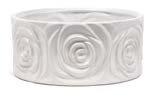 Rose Blossom Round Ceramic Pot Planter by House of Hampton