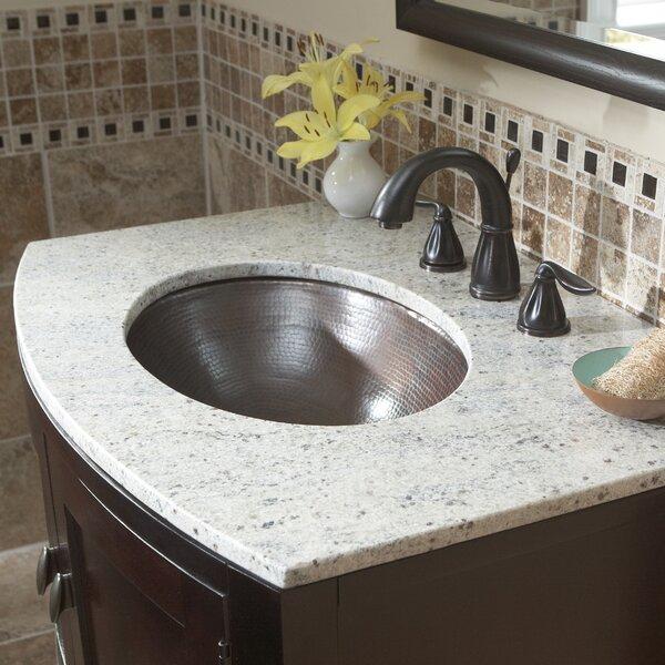 Wallace Metal Oval Undermount Bathroom Sink