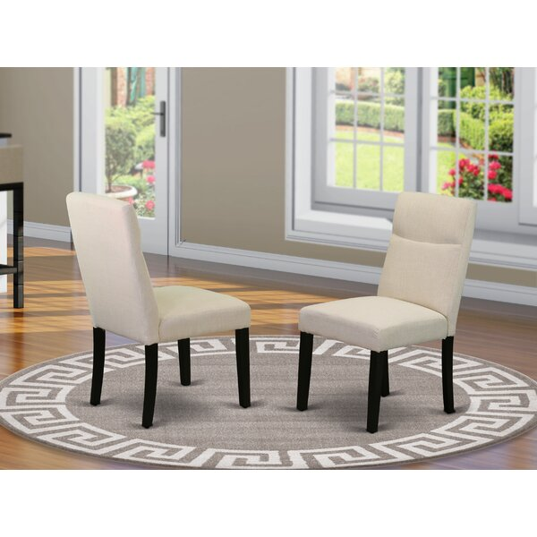 Damron Upholstered Dining Chair (Set of 2) by Charlton Home Charlton Home®