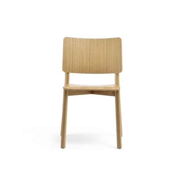 Goggins Solid Wood Dining Chair by George Oliver