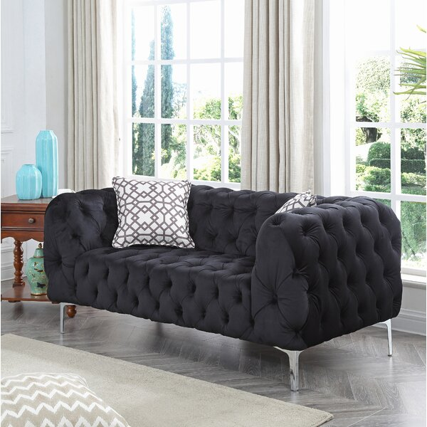 Order Online Verena Loveseat by Everly Quinn by Everly Quinn