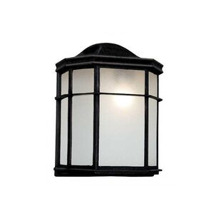 Buy clear Weishaar LED Outdoor Flush Mount By Winston Porter