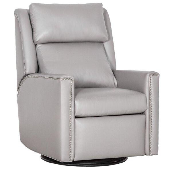 Nolan Leather Manual Recliner by Fairfield Chair Fairfield Chair