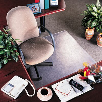 RollaMat Medium Pile Carpet Beveled Edge Chair Mat by Deflect-O Corporation