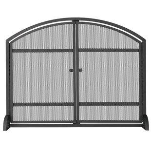 Single Panel Wrought Iron Fireplace Screen  sc 1 st  Wayfair & Wrought Iron Wine Cabinet | Wayfair