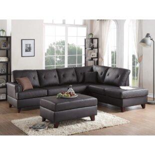 Bevilacqua 3 Piece Living Room Set