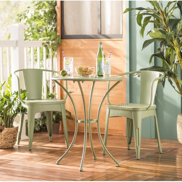 Springmont 3 Piece Bistro Set by Charlton Home