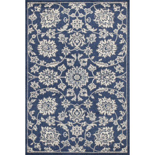 Arcadia Denim Indoor/Outdoor Area Rug by Charlton Home