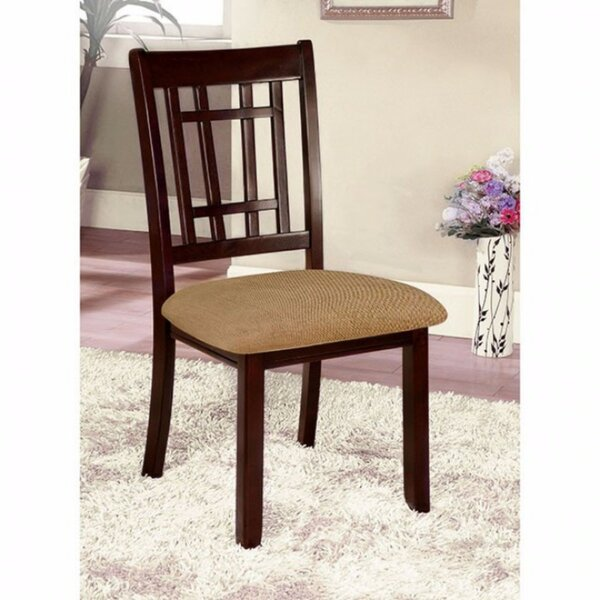 Mahe Transitional Solid Wood Dining Chair (Set Of 2) By Red Barrel Studio