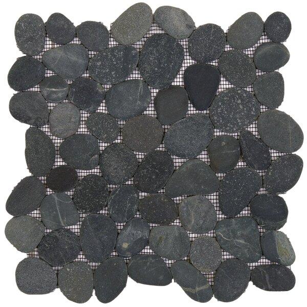12 x 12 Natural Stone Pebble Tile
