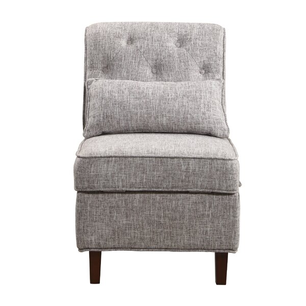 Erastus Slipper Chair by Charlton Home