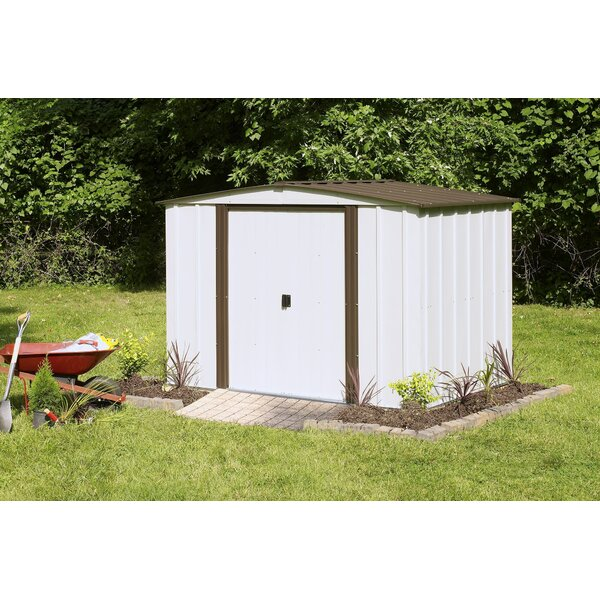 Newburgh 8 ft. 4 in. W x 5 ft. 11 in. D Metal Storage Shed by Arrow